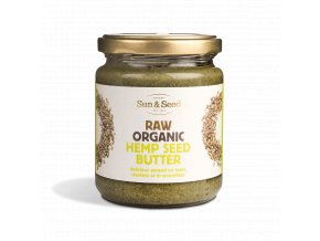 Pasta z konopných semínek 250g - Bio, raw