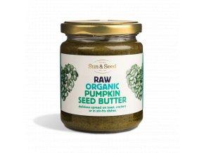 Pasta z dýňových semínek, bio, raw - Sun & Seed 250 g