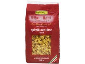 Bio spirálky semolina s jáhlami 500 g