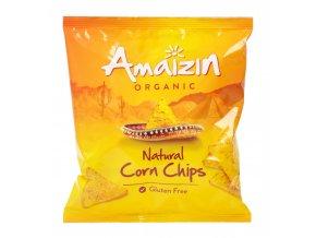 Chipsy kukuřičné natural 75g Bio AMAIZIN