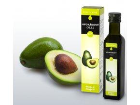 Panenský avokádový olej, bio 250ml