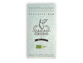 Cacao Crudo - Dark chocolate 80%, Raw & Bio 50g