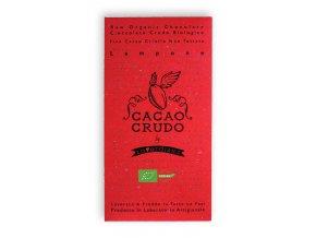Cacao Crudo - Malina (Cacao 63%), Raw & Bio 50g