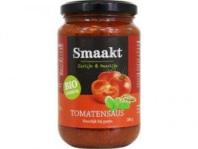 Rajčatová omáčka na těstoviny, bio – Smaakt, 370ml/380g