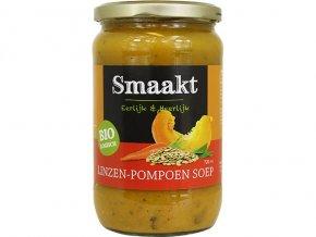Čočkovo-dýňová polévka, bio – Smaakt, 720ml