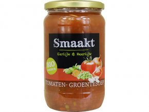 Rajčatovo-zeleninová polévka, bio – Smaakt, 720ml