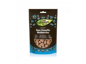 Moruše v RAW čokoládě Vanoffe 125g BIO
