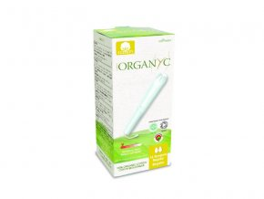 Bio Organyc tampony s aplikátorem REGULAR