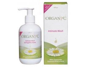 Organyc dámský gel na intimní hygienu s heřmánkem 250 ml