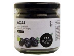 Acai prášek, Bio – Raw Organic Food, 175 g