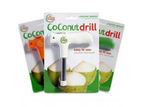 Otvírák na mladé kokosy