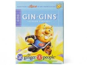 GIN GINS SUPER 31 g - zvlášť silné zázvorové bonbóny