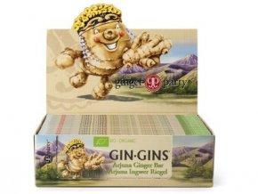 GIN GINS - Zázvorová pochoutka (Arjuna) Bio 35 g