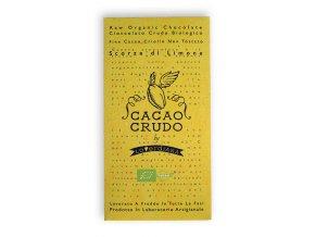 AKCE - Cacao Crudo - Citrón (Cacao 77%), Raw & Bio 50g