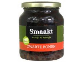 Černé fazole, bio - Smaakt, 350g