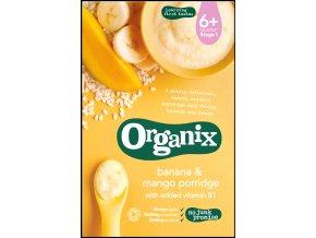 Kaše z banánů a manga - Organix, 120 g - AKCE