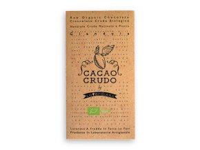 AKCE - Cacao Crudo - Lískooříšková (Cacao 50%), Raw & Bio 50g