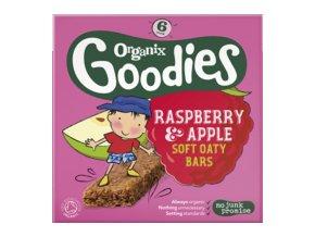 Jablečno-malinové ovesné tyčinky – Organix, 6 x 30 g