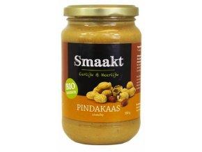 Arašídové máslo, křupavé, bio – Smaakt, 350g