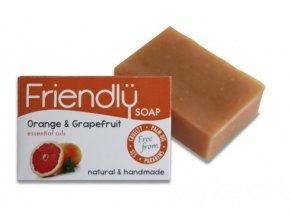 Friendly Soap přírodní mýdlo pomeranč a grep