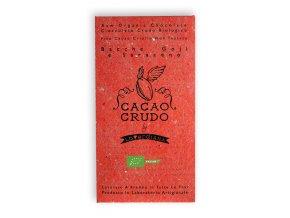AKCE - Cacao Crudo - Goji a Pohanka (Cacao 63%), Raw & Bio 50g