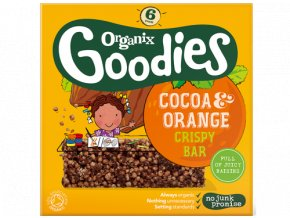 Cocoa & Orange Crispy Bar Packshot 2