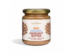 AKCE - Lískooříšková pasta, Bio, Raw – Sun and Seed, 250 g