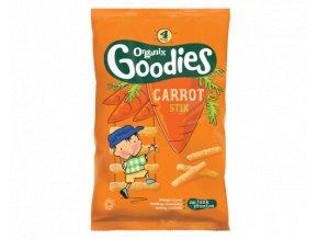AKCE - Mrkvové tyčinky 12+ (Carrot Stix) Organix 4 x 15g
