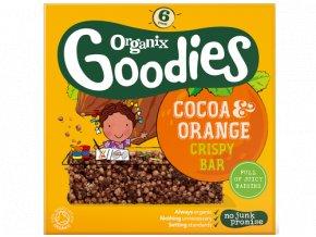 Cocoa & Orange Crispy Bar Packshot 2