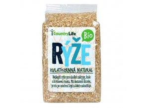 Rýže pololoupaná kulatozrnná 500g Bio - AKCE