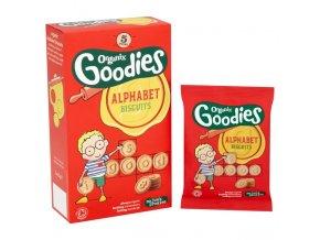 AKCE - Abeced Sušenky - Alphabet biscuits bio – Organix, 25 g