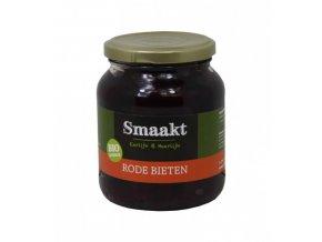Nakládaná červená řepa, bio – Smaakt, 340 g