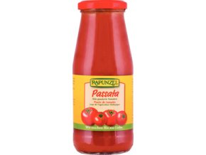 Bio passata: drcená rajčata 410 g