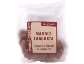 Mandle LARGUETA 100 g bio AKCE
