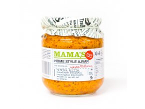Mama's Ajvar Hot Roasted Red Pepper Spread 550g