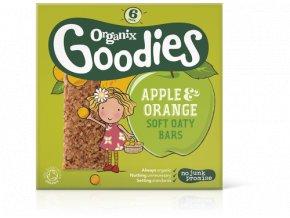 Jablečno-pomerančové ovesné tyčinky – Organix, 6 x 30g - AKCE