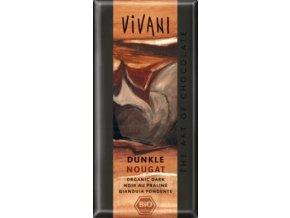 AKCE - VIVANI Bio hořká čokoláda nugátová 100g