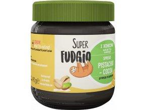 Pistáciovo-kakaový krém – Super Fudgio, 190 g - AKCE