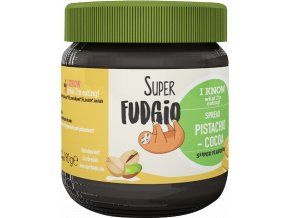 Pistáciovo-kakaový krém, bio, vegan – Super Fudgio, 190 g - AKCE