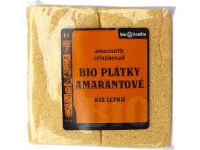 Bio amarantové plátky křupavé 100 g - AKCE