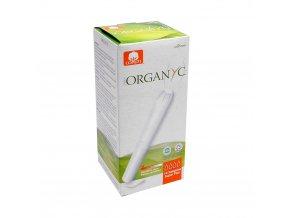 Bio Organyc tampony s aplikátorem SUPER PLUS (14 ks)