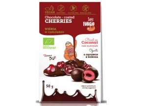 SF organic chocolate coated cher ries — kopia