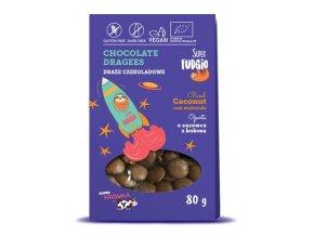 Čokoládové lentilky bio vegan