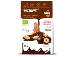 SF organic chocolate coated pean uts — kopia