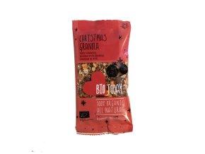 Červená granola do kapsy, jablko-řepa, bio – Bio Today, 45 g