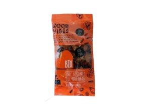 Ořechovo-ovocný mix s mandlemi, kustovnicí a slunečnicí, bio – Bio Today, 42 g