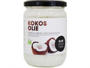 Raw extra panenský kokosový olej, bio – Raw Organic Food, 400g - AKCE