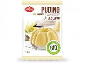 Puding vanilkový, bez lepku, bio - Amylon, 40 g