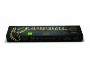 """Lískooříškový """"torrone"""" (italský turecký med), bio, raw – Cacao Crudo, 200 g"""