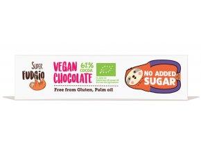 Čokoláda 62% bez přidaného cukru